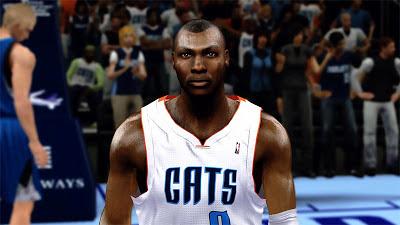 NBA 2K13 Bismack Biyombo Cyberface Mod
