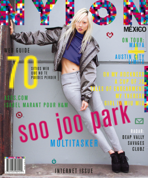 Soo Joo Park's Nylon Mexico Cover November 2013