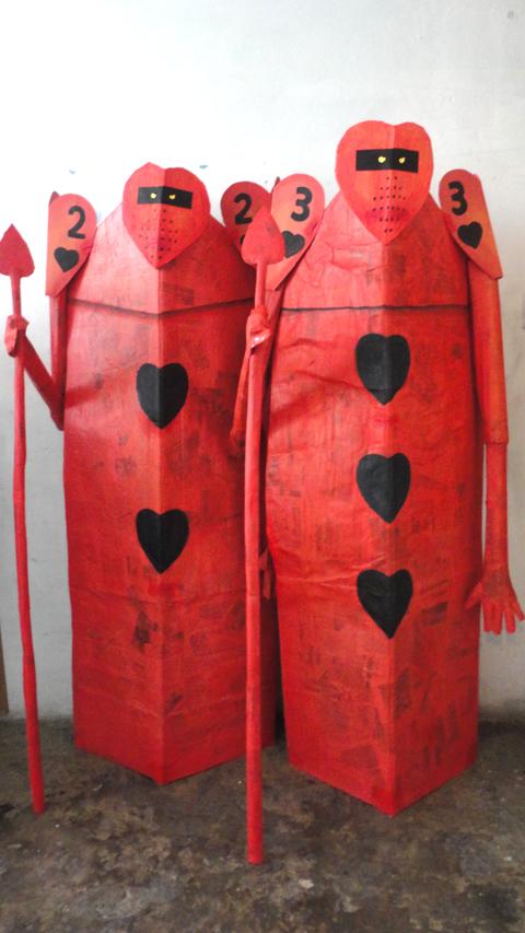 Soldados Reina Roja