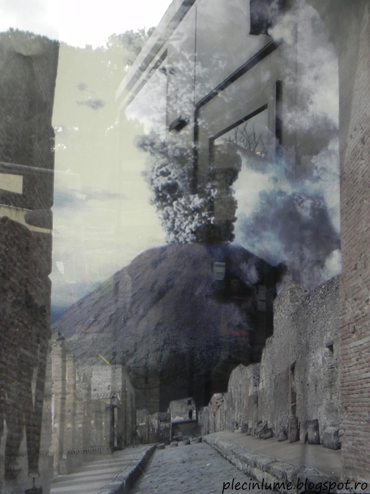 Eruptia vulcanului Vezuviu