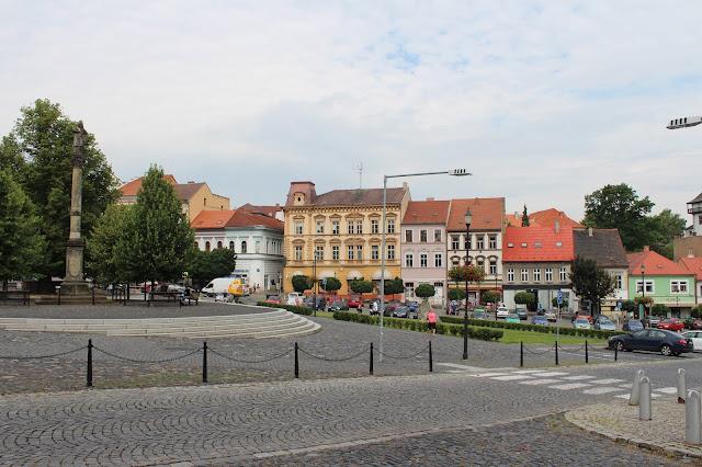 Náměstí v Roudnici nad Labem // square in Roudnice nad Labem