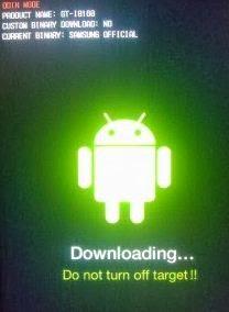 Cara Flash Samsung Galaxy Core Duos GT I8262 via Odin