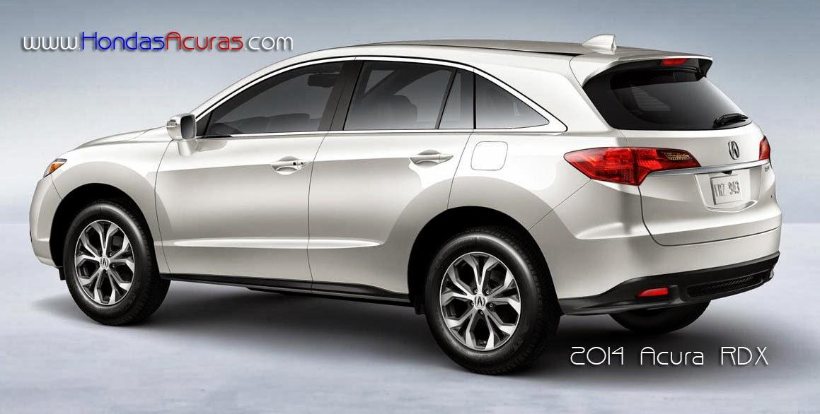 2014 Acura RDX Changes