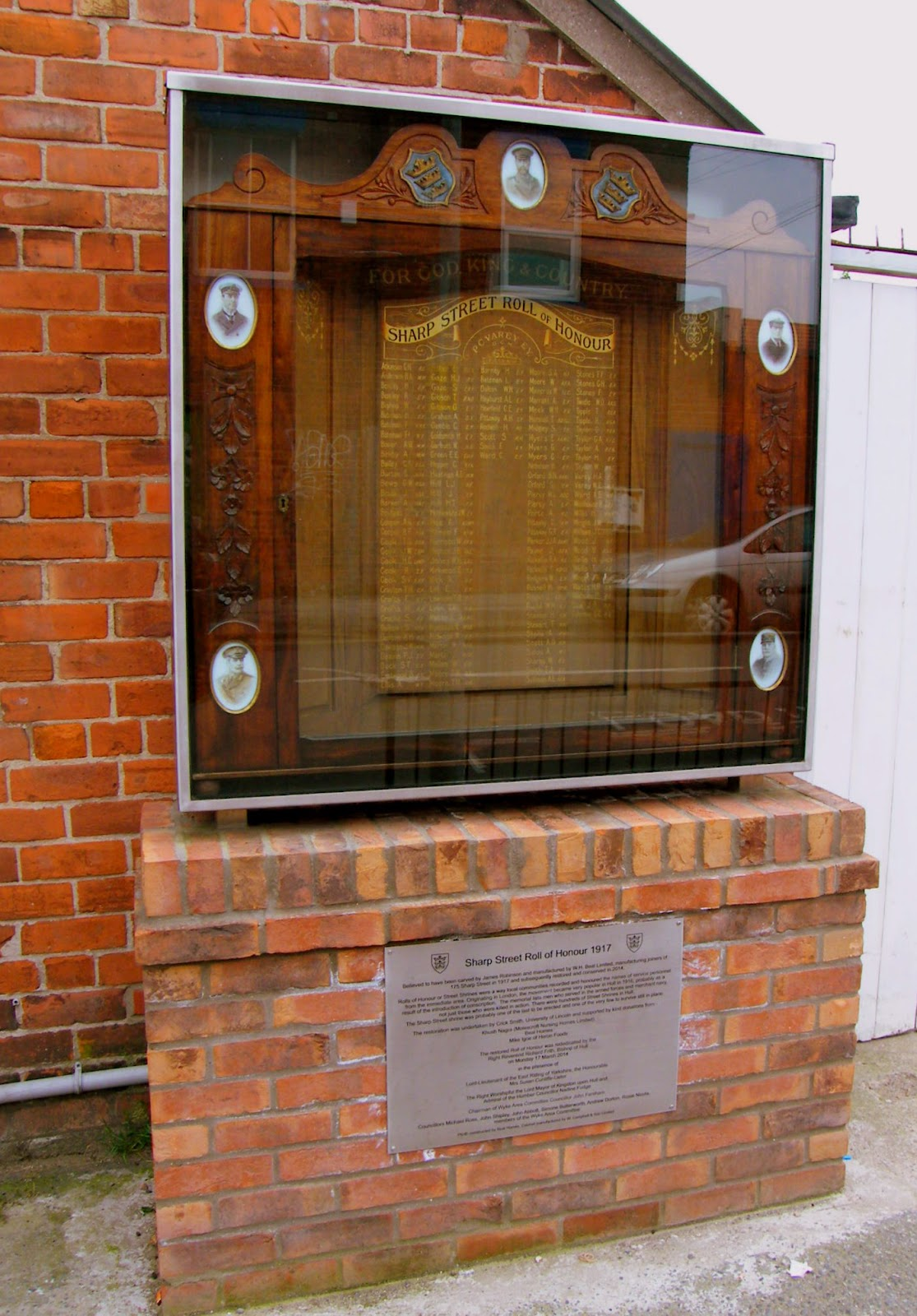 Sharp Street Memorial - thanks to the http://hullvalley.blogspot.co.uk/