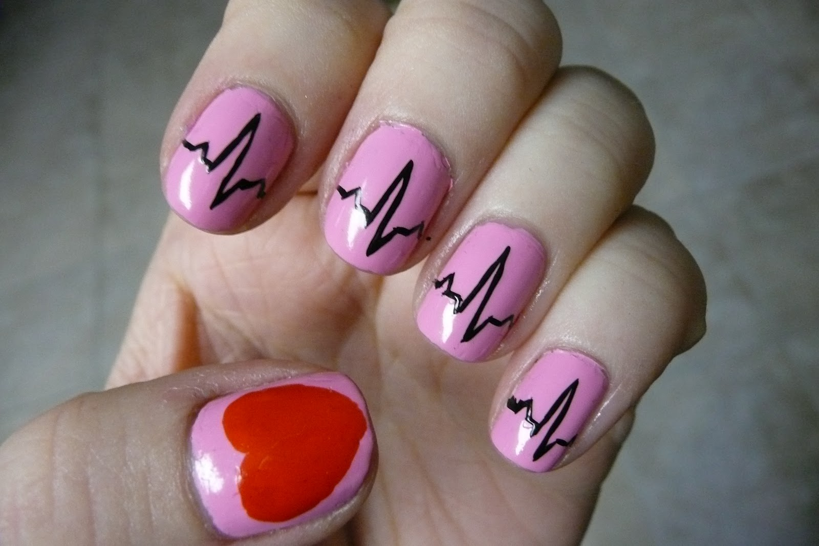 My Not So Valentine's Day Nails