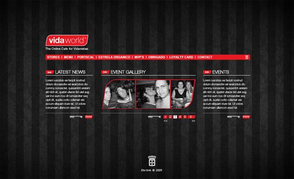 Vida-World-Web-Interface