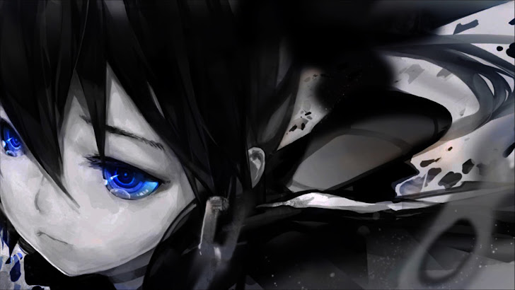 Lonely Girl Black Rock Shooter