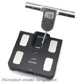 Бытовой биоимпедансметр - весы