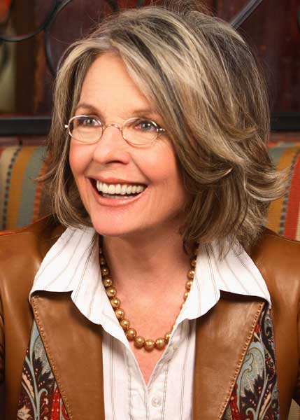 now is to have highlights and lowlights. I love Diane Keaton's hair