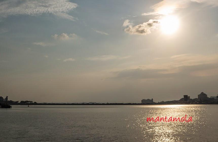 Sun set at Woodlands Waterway