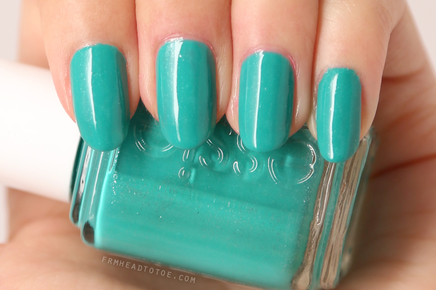 Manicure Monday: Essie Naughty Nautical - From Head To Toe