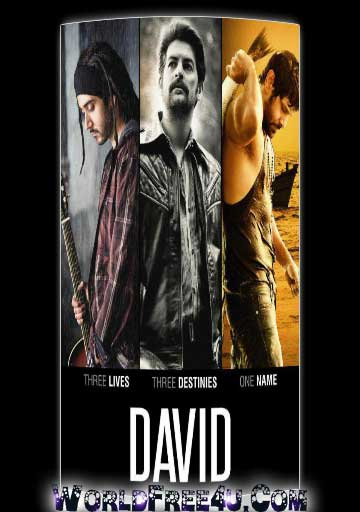 Poster Of Hindi Movie David (2013) Free Download Full New Hindi Movie Watch Online At worldfree4u.com