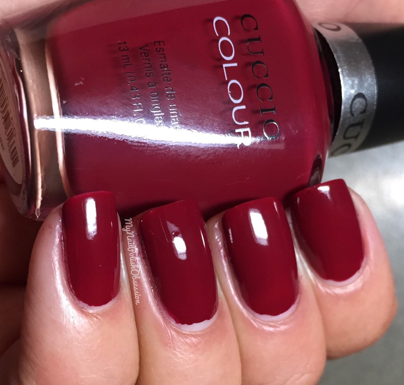 My Nail Polish Obsession: Cuccio Royale Collection, Fall 2015