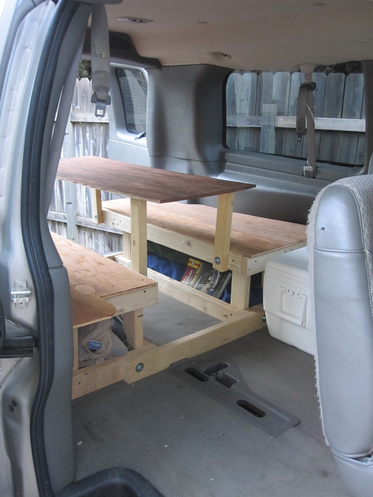 Lots Of Space To Get Into The Van And Use Table Cooler Can Provide Another Few Seats If You Are Expecting A Crowd