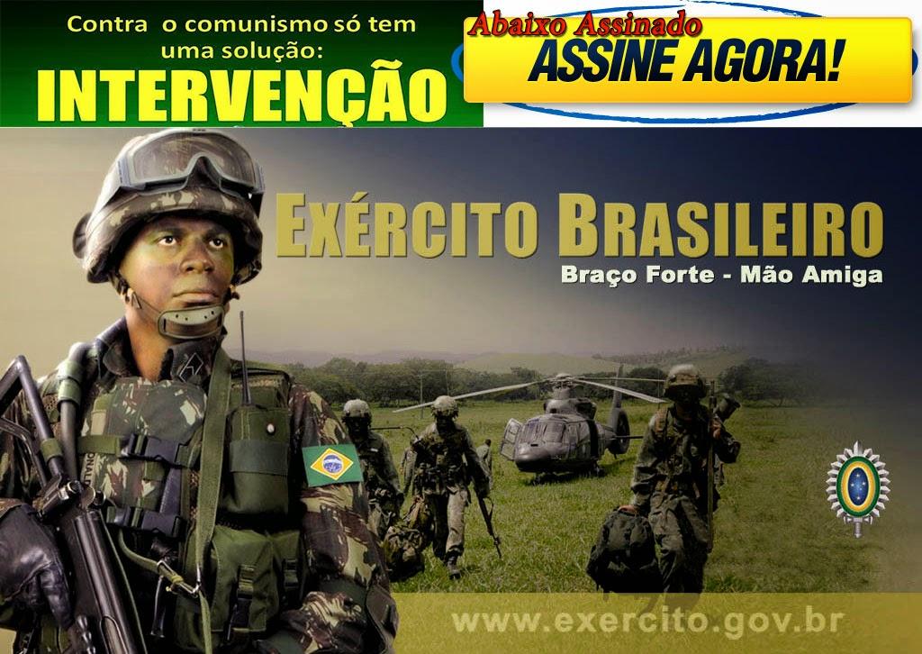 AJUDE A SALVAR O BRASIL DO COMUNISMO