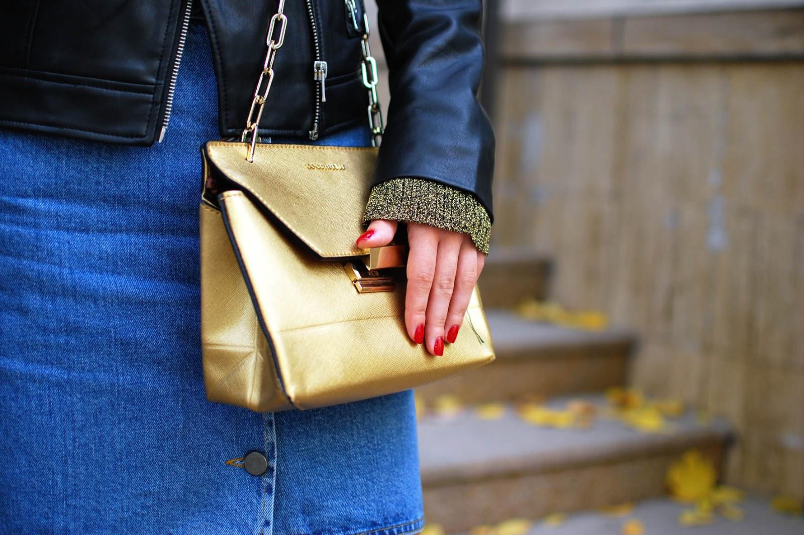 coccinelle bag fall, модные образы 2015,ирина павлова блог