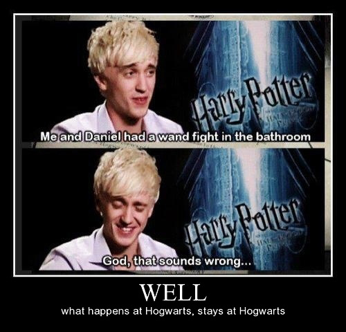 Bathroom Incident - Tom Felton And Daniel Harry Potter