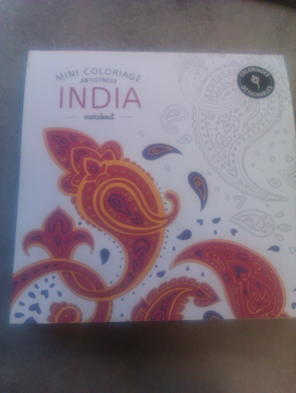 Coloriage Adulte Marabout.Luki Color Art Therapie Coloriage Pour Adulte India Mini