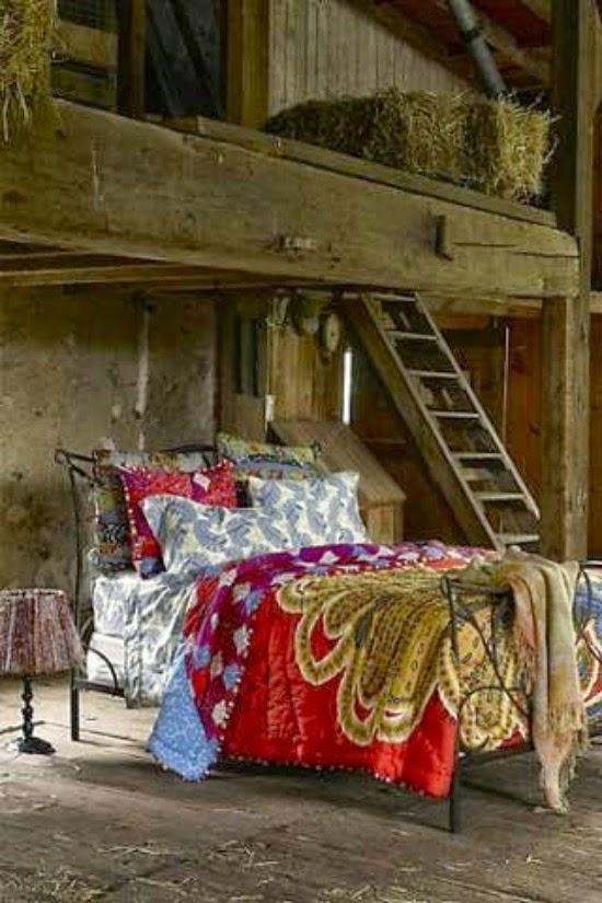 vintage dormitorio rustico
