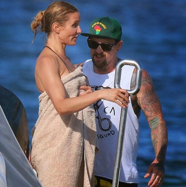 Cameron Díaz disfruta de su nueva pareja