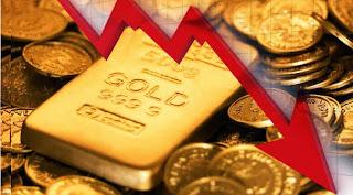 Harga Emas Turun  -  Harga emas batangan PT Bermacam Tambang turun sebesar Rp 2. 000 jadi Rp 534. 000 per gram dari mulanya Rp 536. 000.