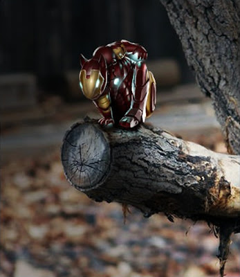 Ardilla Iron Man (Iron squirrel)