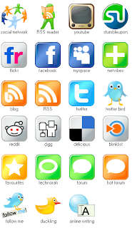 latest social icons,Free cool social icons