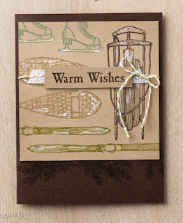Stampin' Up! 3 Winter Wishes Project Ideas #stampinup Holiday Catalog Christmas