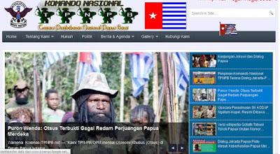Tiga Website Tentara Papua Dihacker