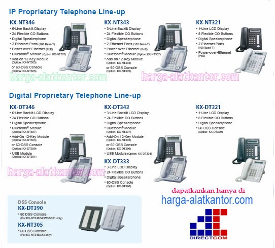 Line Up DIGITAL Proprietary Telephone