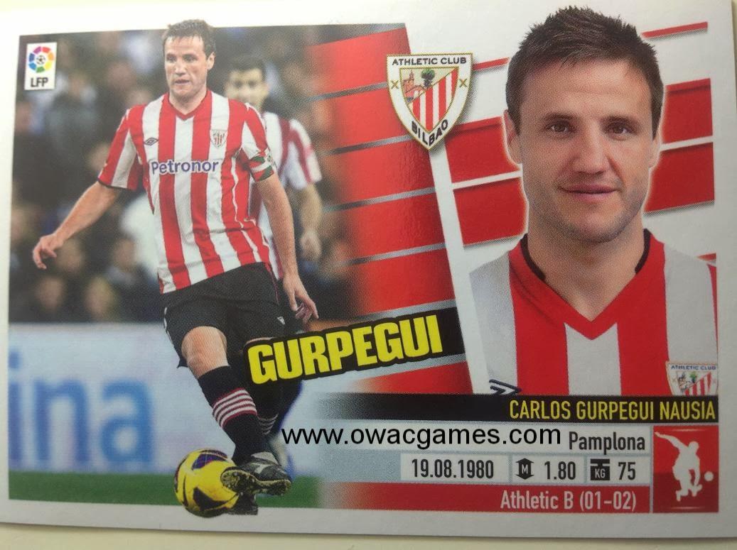 Liga ESTE 2013-14 Ath. Bilbao - 6A - Gurpegui