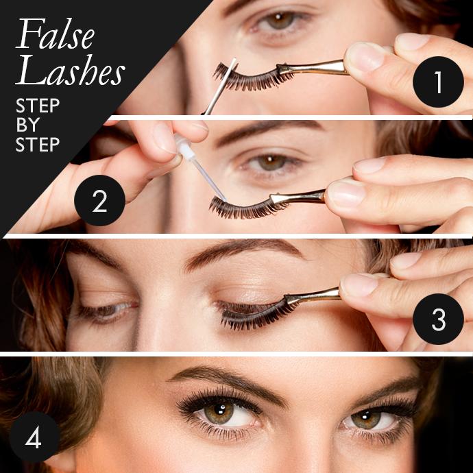 Oriflame UK Independent Consulants: Apply false eyelashes ...