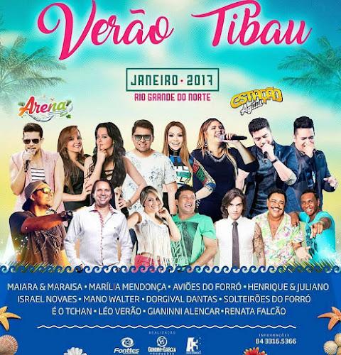 Verão Tibau 2017 - Confira as atrações