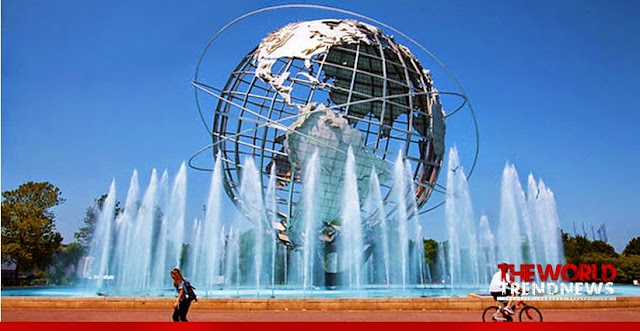 Flushing Meadows, Corona Park the second largest park in New York