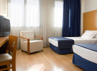 hotel hesperia del mar barcelona habitación doble