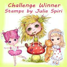 Challenge winnaar 09-2015 bij Julia Spiri
