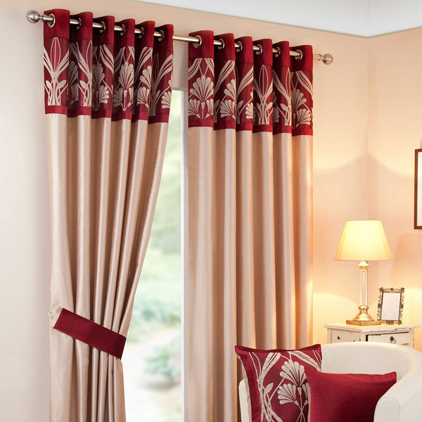 collection that features a beautiful stripe pattern. The curtains ...