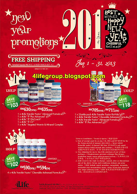 January 2013 New Year Promotions