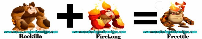 como obtener el monster freettle en monster legends formula 2