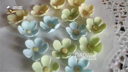 Florecitas en azúcar