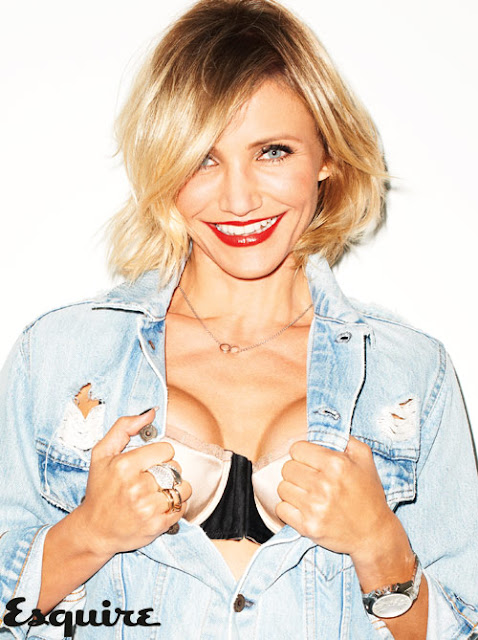 Cameron Diaz - Esquire UK magazine November 2012