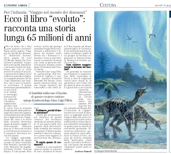 Ecco il libro evoluto: racconta una storia che si  interrotta 65 milioni di anni fa
