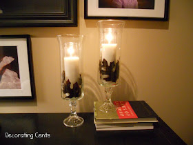crafts for fall: williams sonoma inspired fall glass hurricanes tutorial