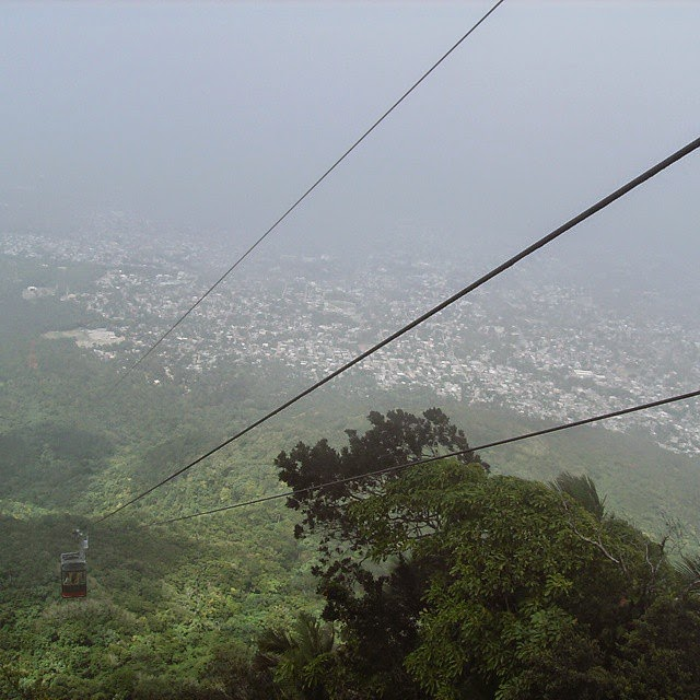 Cable Car to Mt. Isabel de Torres - Dominican - copyright Chrystal Scales