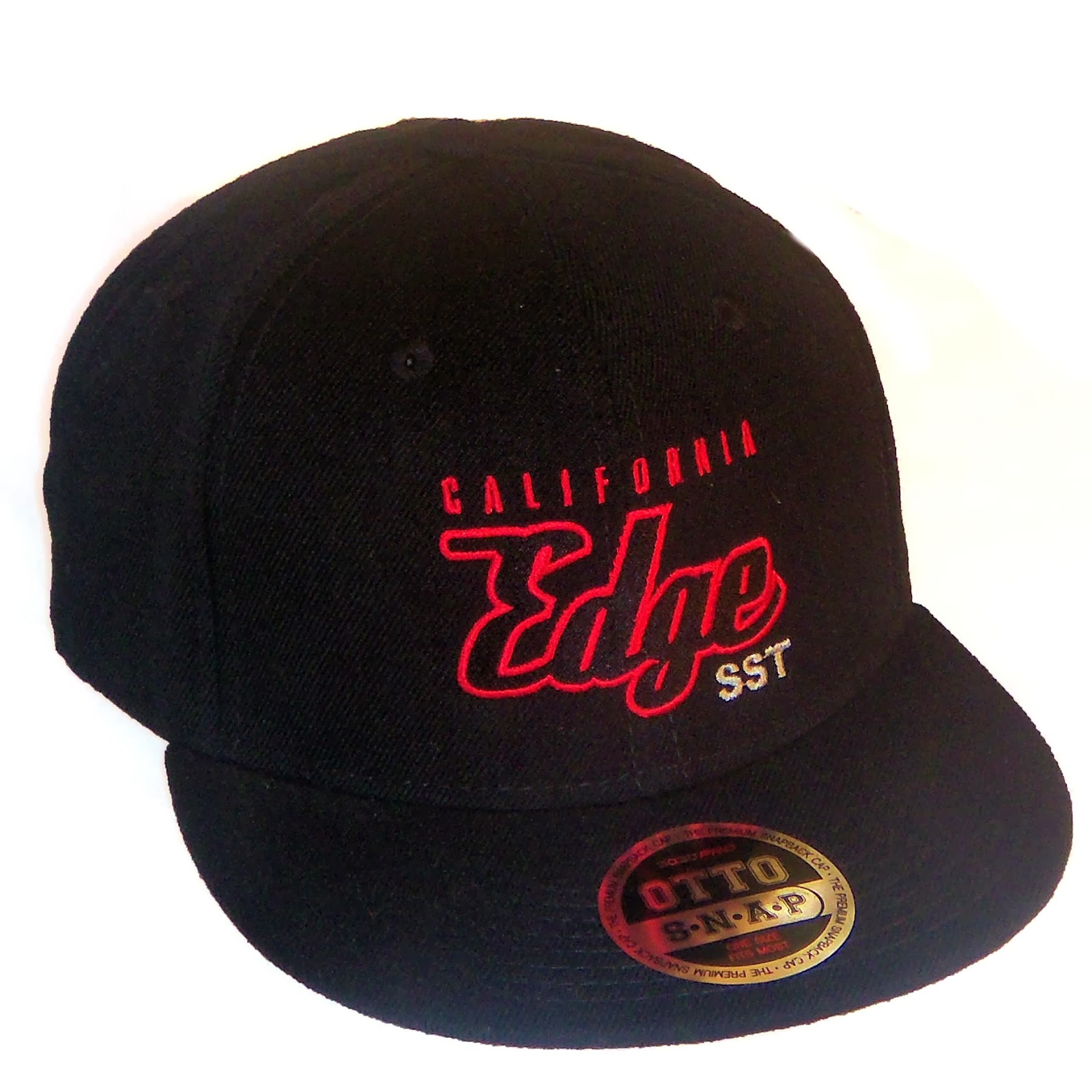 California Edge SST Flat Bill Snapback Cap Limited Edition