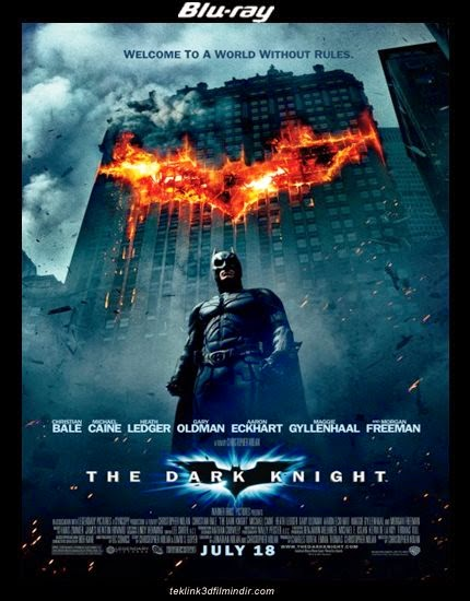 Kara Şövalye - The Dark Knight (2008) afiş