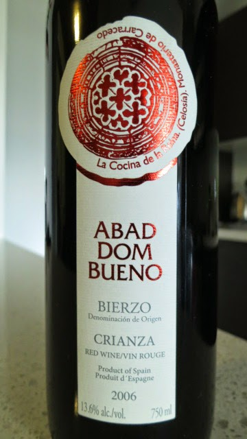 2006 Abad Dom Bueno Crianza from DO Bierzo, Spain (90 pts)