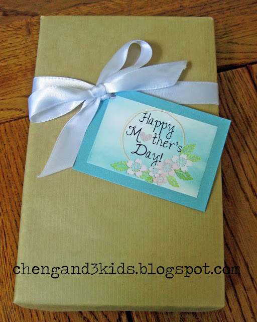 This comes in different sizes, 8x10, 5x7, 4x6 and 2x3, they can be placed in frames or used as gift tags.