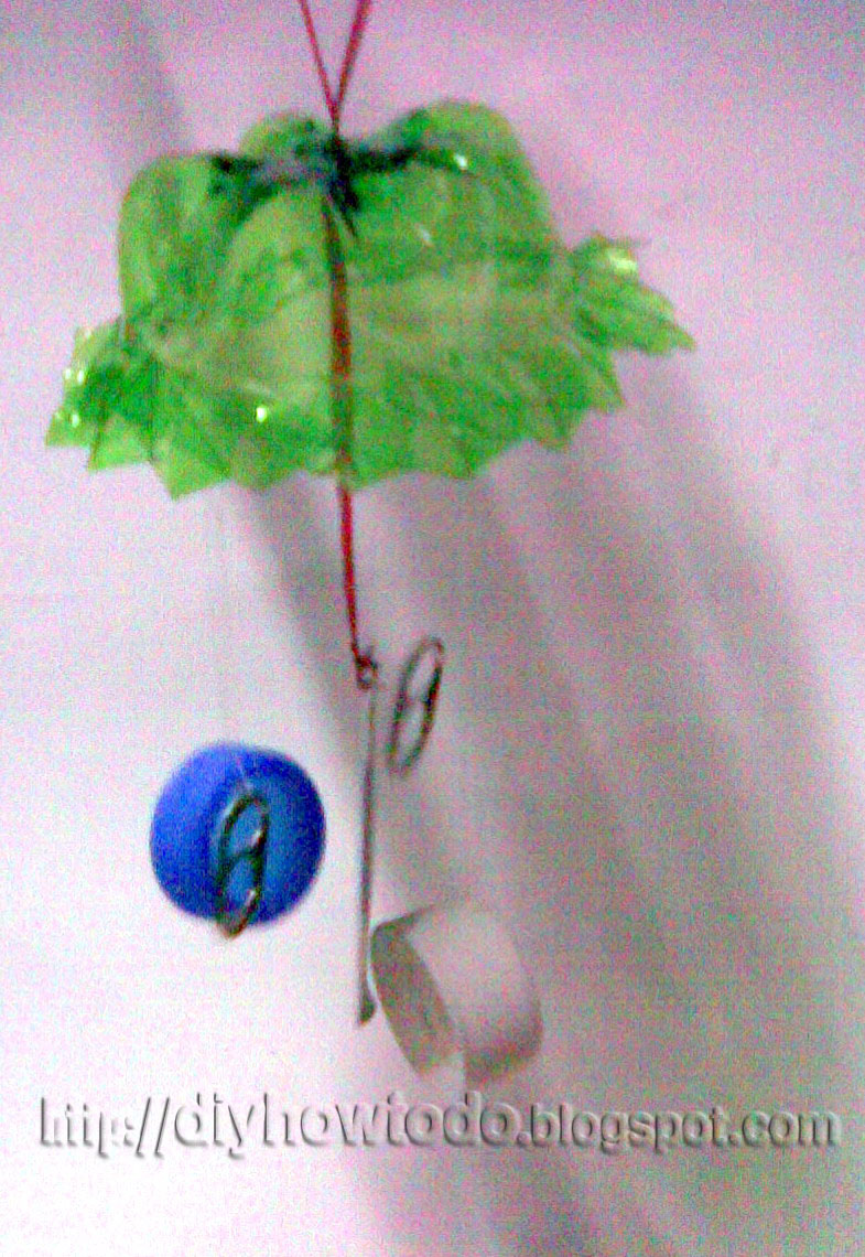 wind chime,  reuse,recycle,plastic bottle,kid crafts