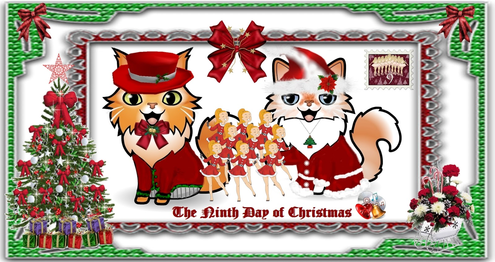 All About Lacocoon Dante: THE NINTH DAY OF CHRISTMAS WITH DANTE & SASCHA